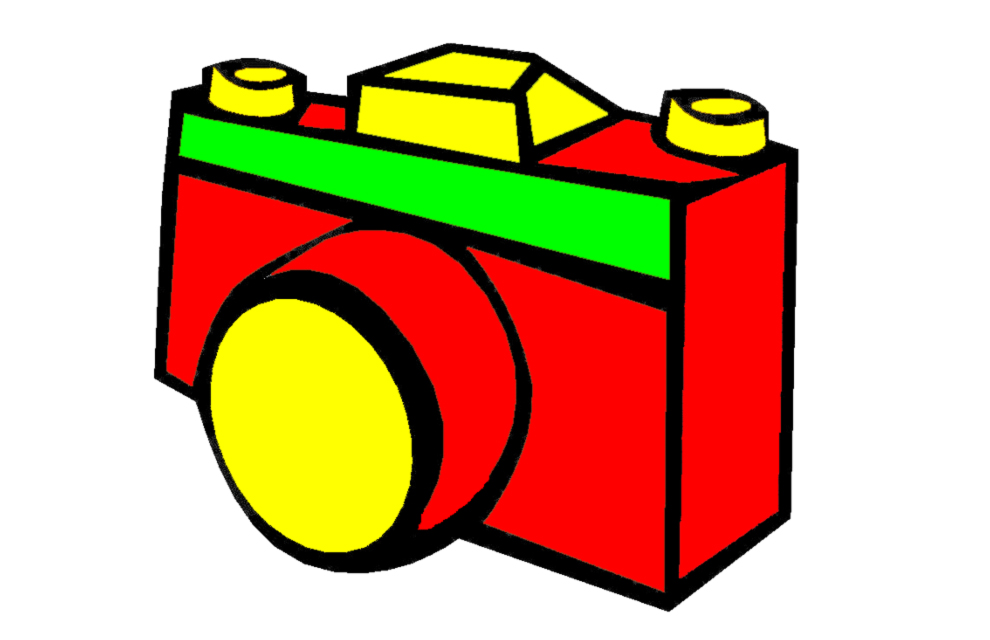 Disegno Macchina Fotografica Colorato Parmakidsit
