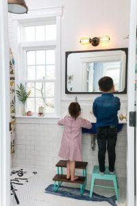 Arredo Bagno Per Bambini.Un Bagno A Misura Di Bambino E Famiglia Parmakids It