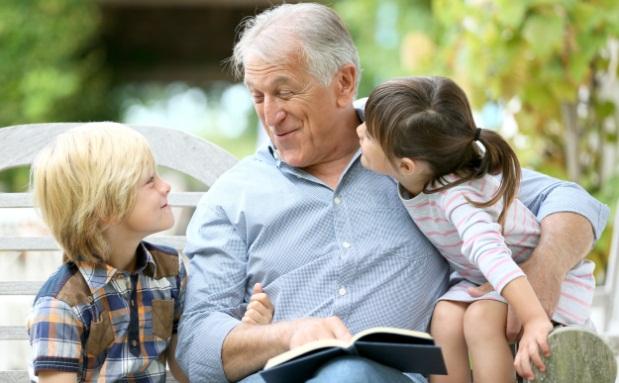 Risultati immagini per nonno i nipotini